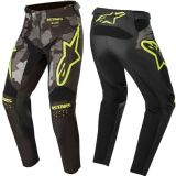 2020 Alpinestars Racer TACTICAL Black Grey Camo Flo Yellow Motocross Pants